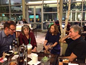 Dr. Mark Bacon (Spinal Research UK.) - Christal Powell - Donna Sullivan - Dr. Jerry Silver - Boston 2013
