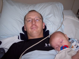 Brandon in Rehabilitation after C-6/7/8 & L-1/2 SCI