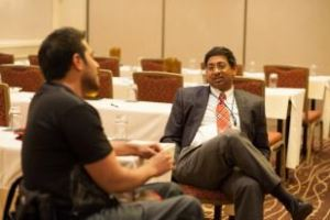 Harvey Sihota and Dr. Ravi Bellamkonda