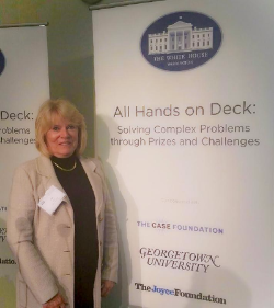 Ida Cahill CPN at the White House for All Hands on Deck